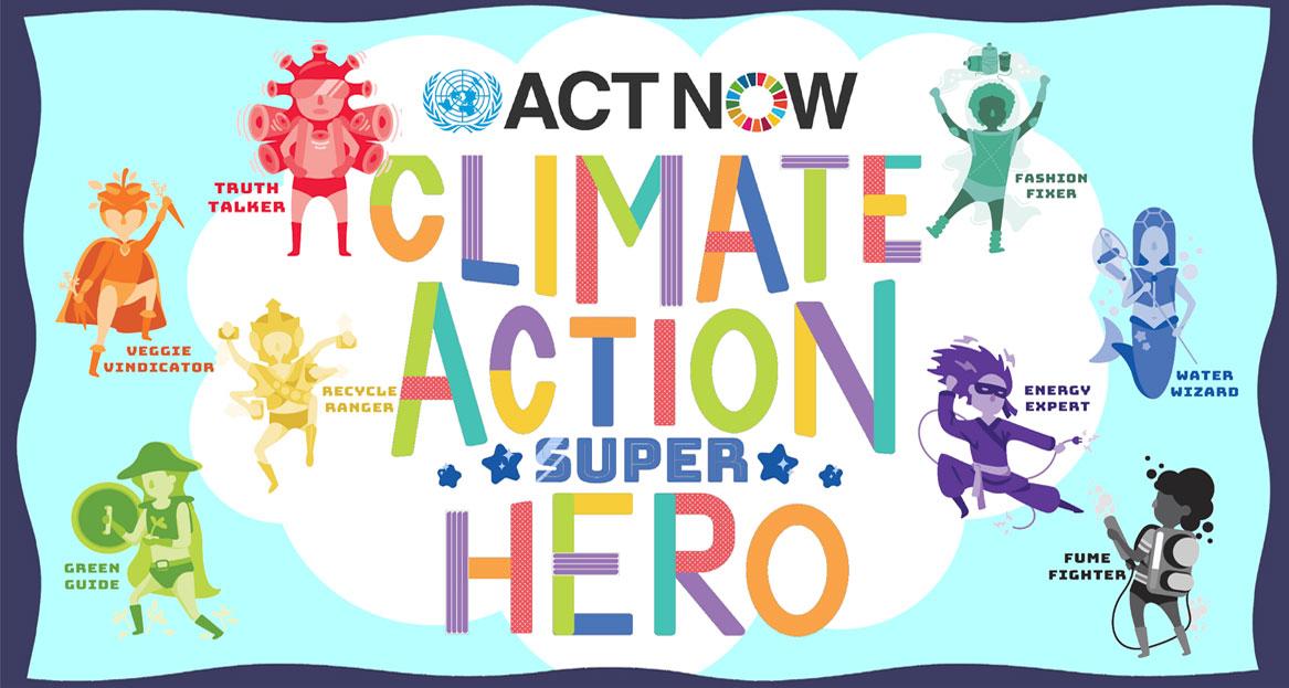 Climate Action Superhero