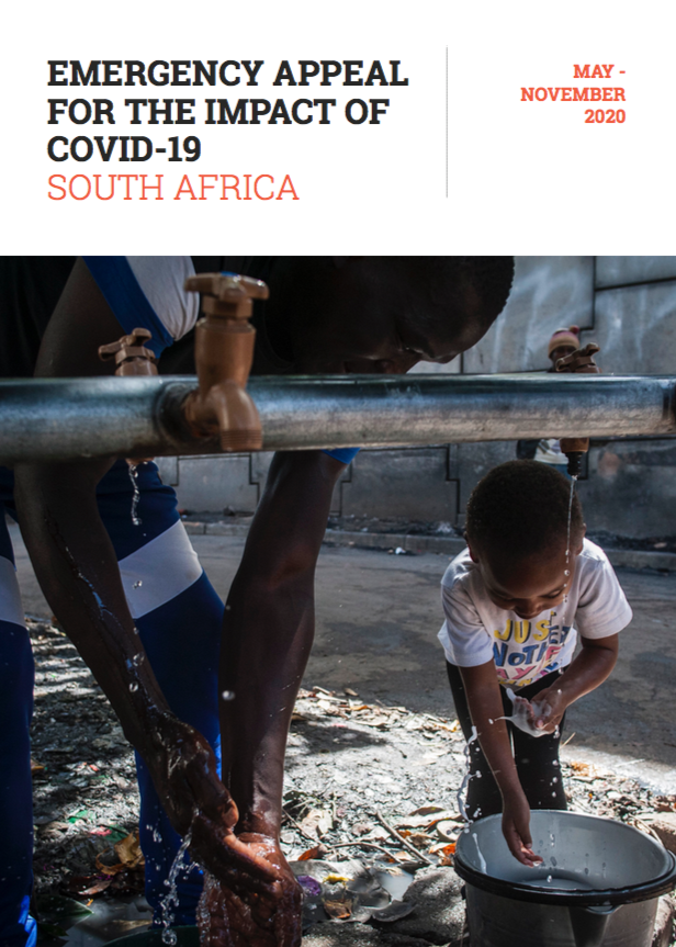 Emergency Appeal for the Impact of COVID19 in South Africa