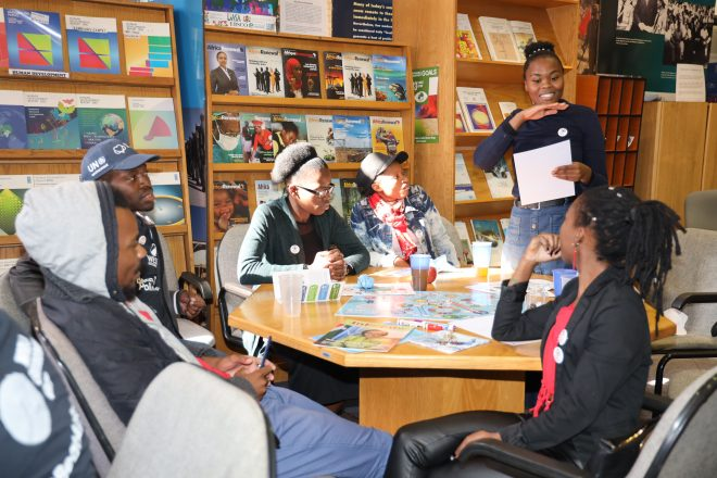 The UN in South Africa hosts educational youth workshop on #SDGs