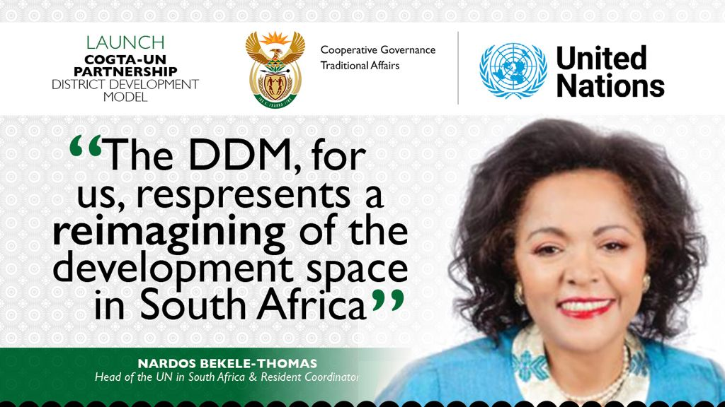 FAQs on the United Nations-Government's Partnership on District Development Model (DDM)