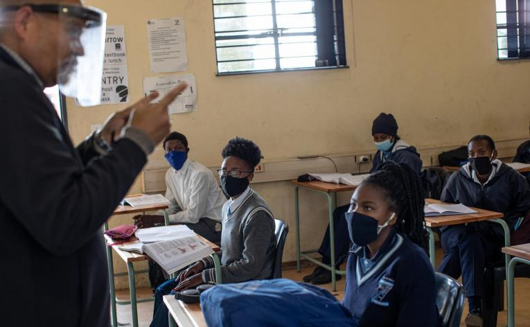Learners in South Africa up to one school year behind where they should be