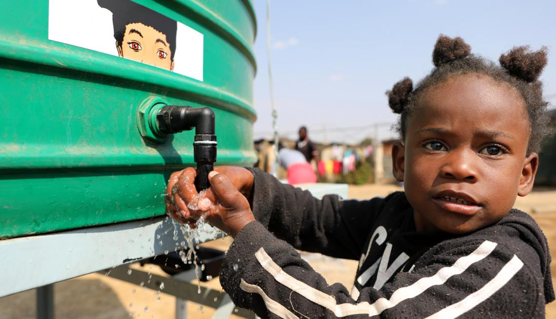 Children in South Africa at high risk of the impacts of the climate crisis