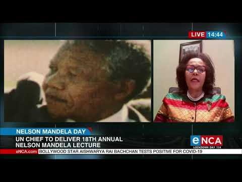 Ms. Nardos Bekele-Thomas' speaks to eNCA TV in marking the Nelson Mandela International Day